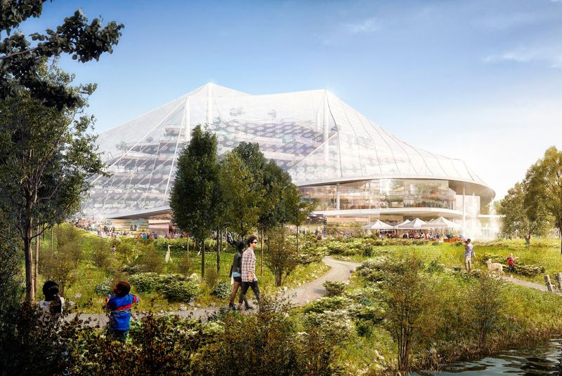 Google собирается построить «стеклянную утопию» в Маунтин-Вью - 1