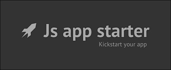 Js app starter