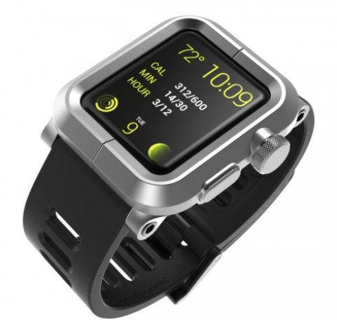 LunaTik Epi   чехол, который сделает Apple Watch  водонепроницаемыми
