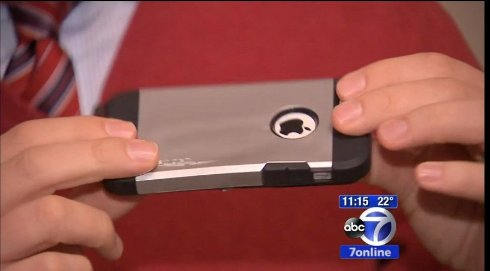 iPhone взорвался в кармане американца