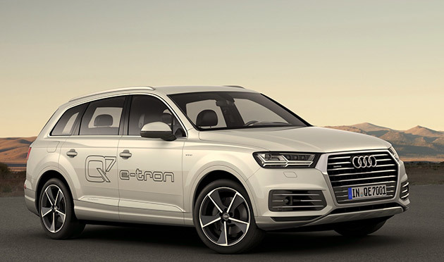 Audi представляет свои электромобили - 1