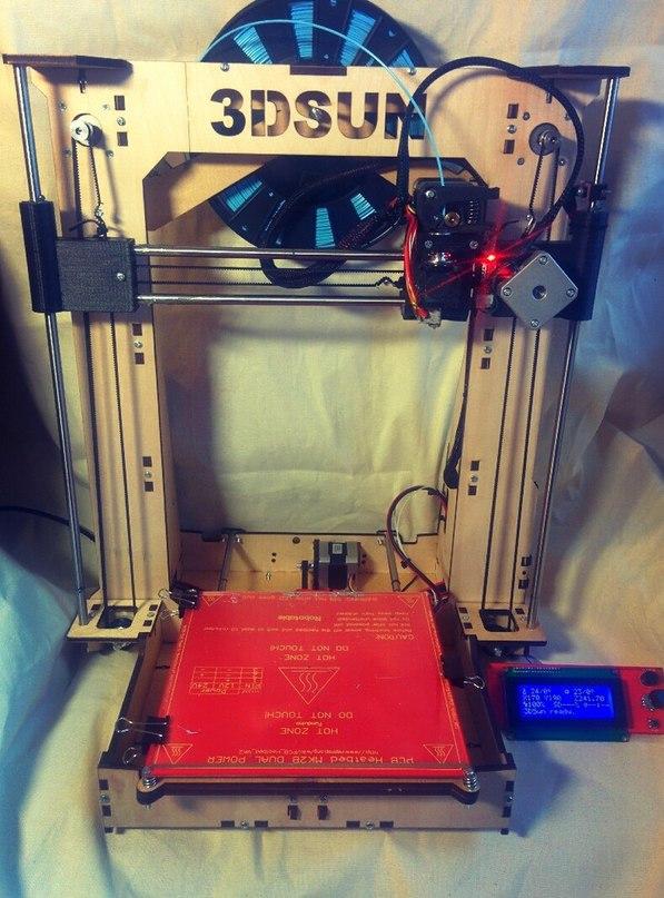 Step by step или как собрать 3д принтер будучи бедным студентом - 1