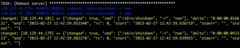 Автоматизируем и ускоряем процесс настройки облачных серверов с Ansible. Часть 4: работаем с модулями - 2