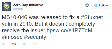Microsoft неправильно исправила уязвимость, которую использовал червь Stuxnet - 1