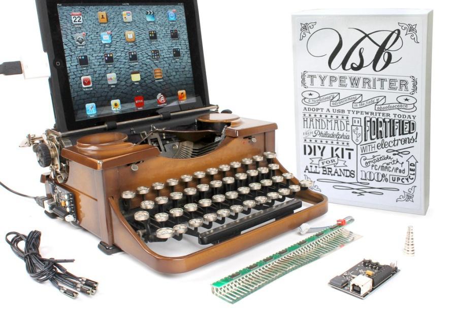 Печатная машинка вместо клавиатуры - 1