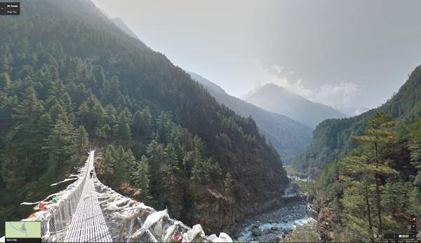 Путешествовать по Эвересту теперь можно виртуально, в Google Street View - 1
