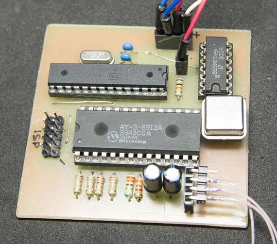 Олдскул, хардкор, AY-3-8912. «Железный» чиптюн с последовательным входом - 1