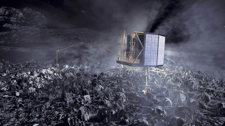 Ученые продолжают попытки связаться с зондом Philae на комете Чурюмова-Герасименко - 1