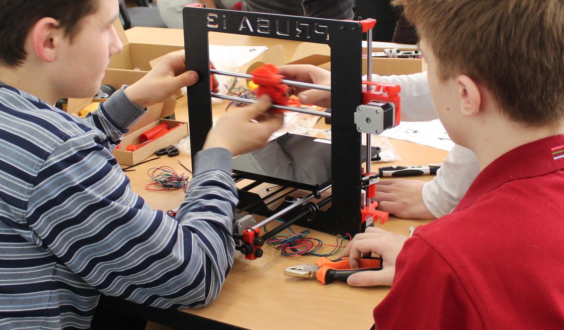 3D печать — в школы (техномарафон по сборке 3D-принтеров в Екатеринбурге) - 1