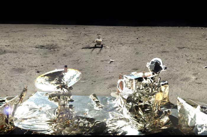 Китайский луноход обнаружил признаки «лавовых потопов» на Луне - 1