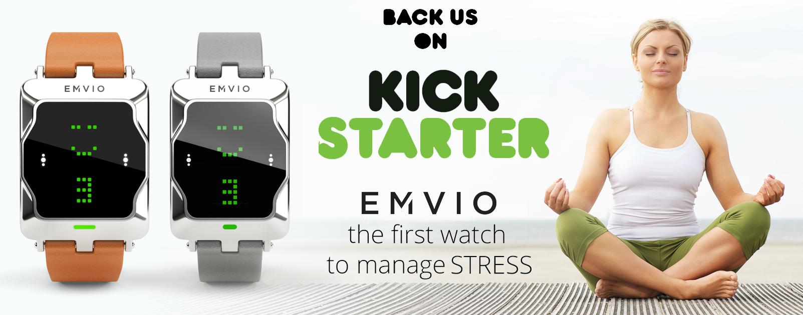 Трекер эмоционального стресса Emvio — теперь на Kickstarter - 1