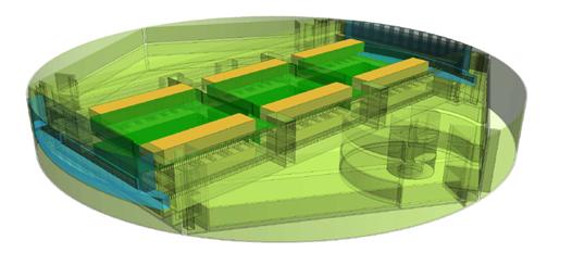 Инженерное устройство дата-центра уровня TIER III, стоящего на четырех магистральных линиях - 2