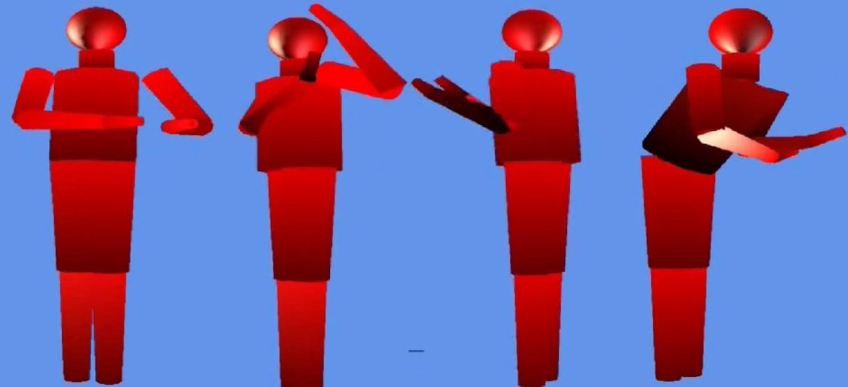 Применение МЭМС гироскопов и акселерометров для отслеживания движений тела человека - 1