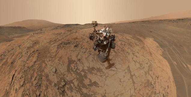Марсоход Curiosity обнаружил на Марсе следы нитратов - 1