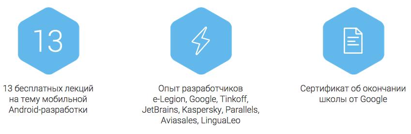 Онлайн школа Android-разработчиков e-Legion & Google - 1