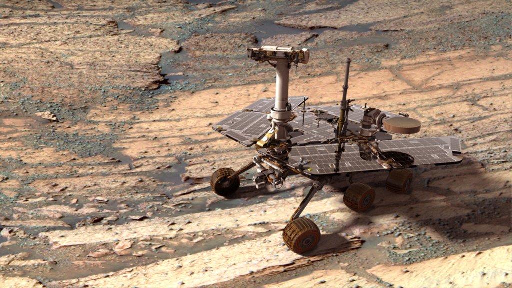 Память марсохода Opportunity успешно переформатирована - 1