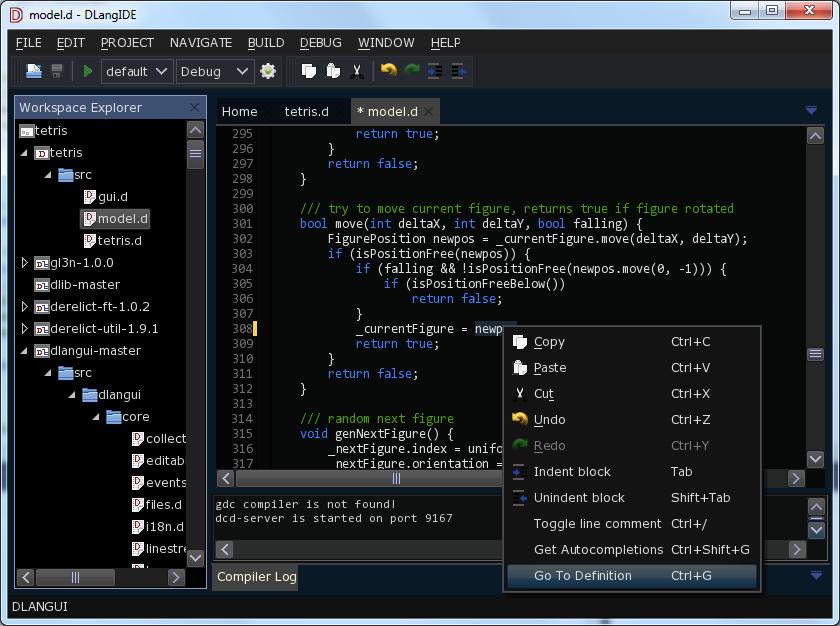 DlangUI — кросплатформенный GUI для D (Часть 1) - 1