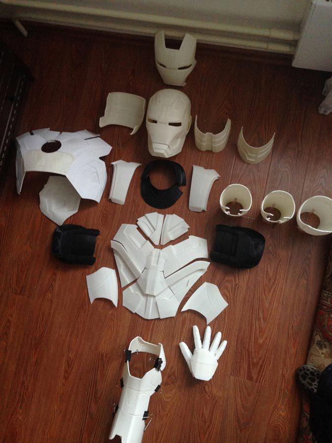 Пять вещей, которые можно распечатать на 3D-принтере. Часть №1: костюм «Железного человека» - 1