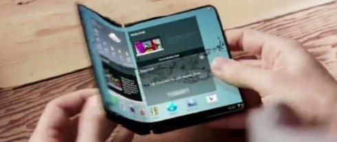 Samsung готовит смартфон со складным дисплеем