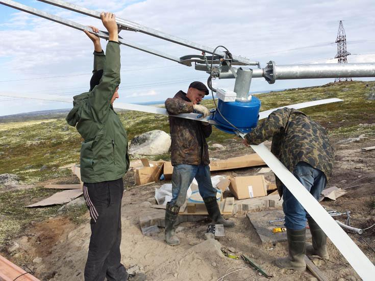 Зелёная энергетика для базовых станций и всего до 2 КВт — трёхлетний опыт с ветряками, солнечной генераций + геозондом - 1