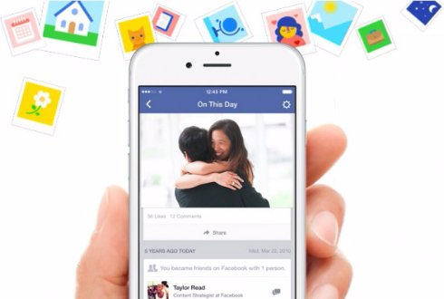 Facebook позволит пользователем заглянуть в прошлое