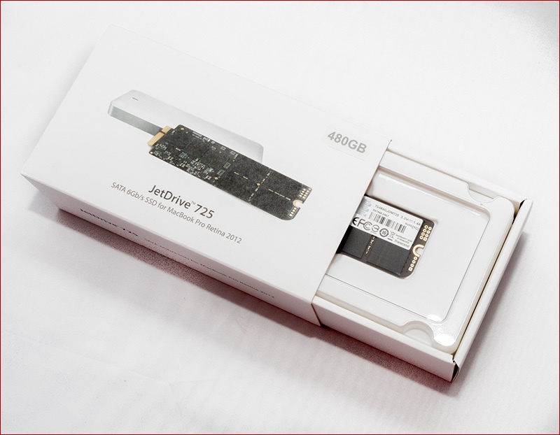 Обзор SSD диска Transcend JetDrive 725 для апгрейда MacBook Pro Retina - 1
