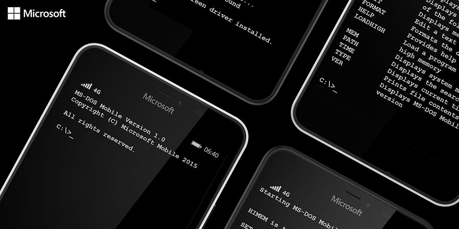 Новая эра: сегодня анонсирована MS-DOS Mobile для смартфонов Lumia - 2