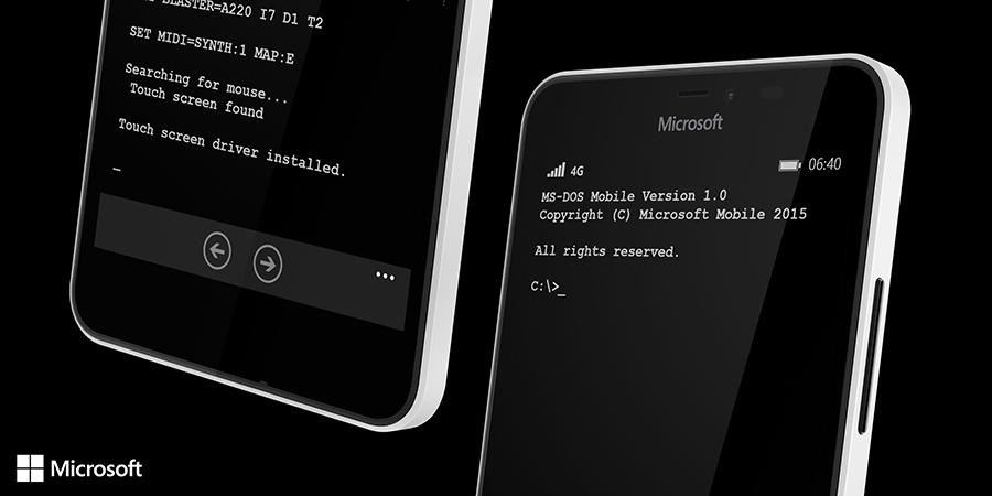 Новая эра: сегодня анонсирована MS-DOS Mobile для смартфонов Lumia - 3