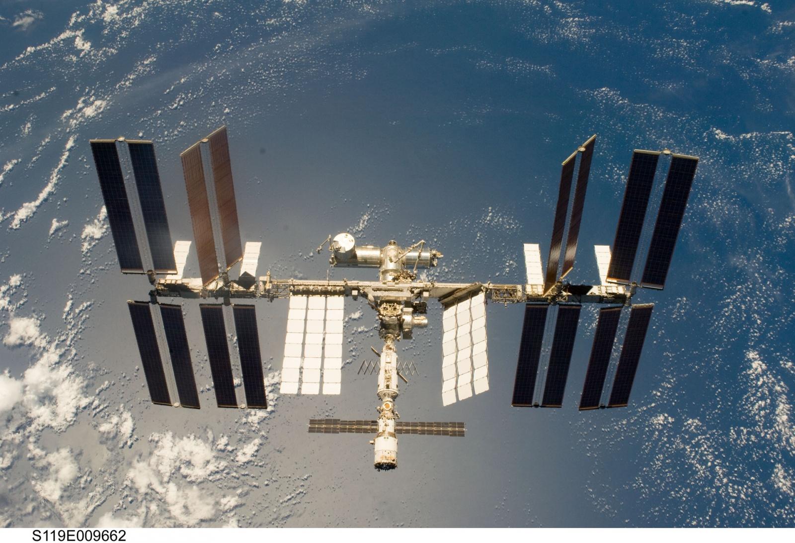 Энергетическая система Международной космической станции - 1