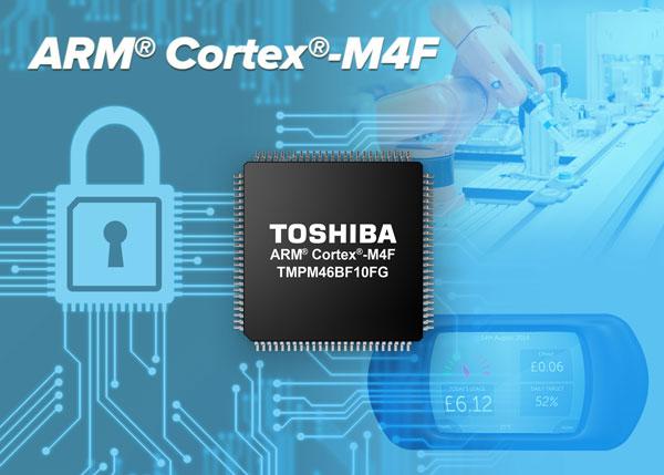 Микроконтроллер Toshiba TMPM46BF10FG предназначен для управляющих систем и устройств интернета вещей