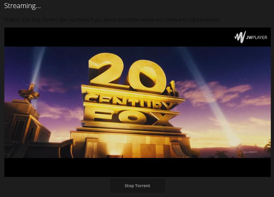 Новый сервис для просмотра фильмов с торрентов прямо в браузере - 1