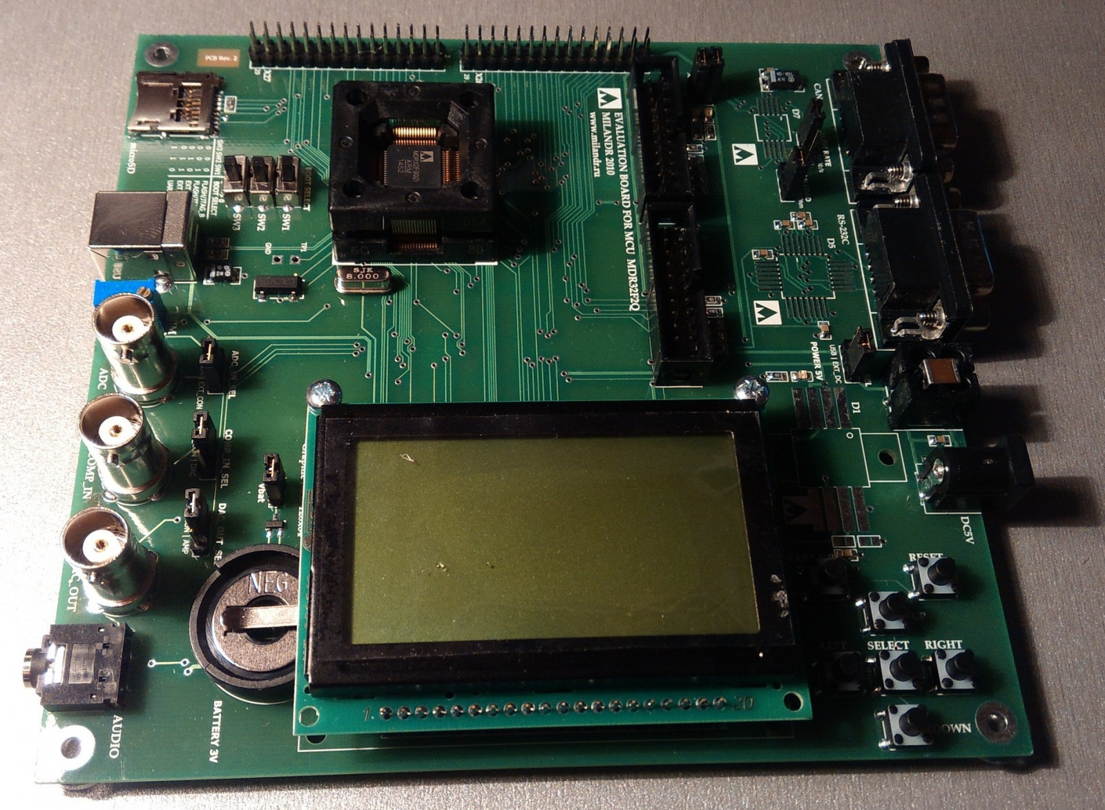 Переходим с STM32F103 на К1986ВЕ92QI. Или первое знакомство с российским микроконтроллером - 10