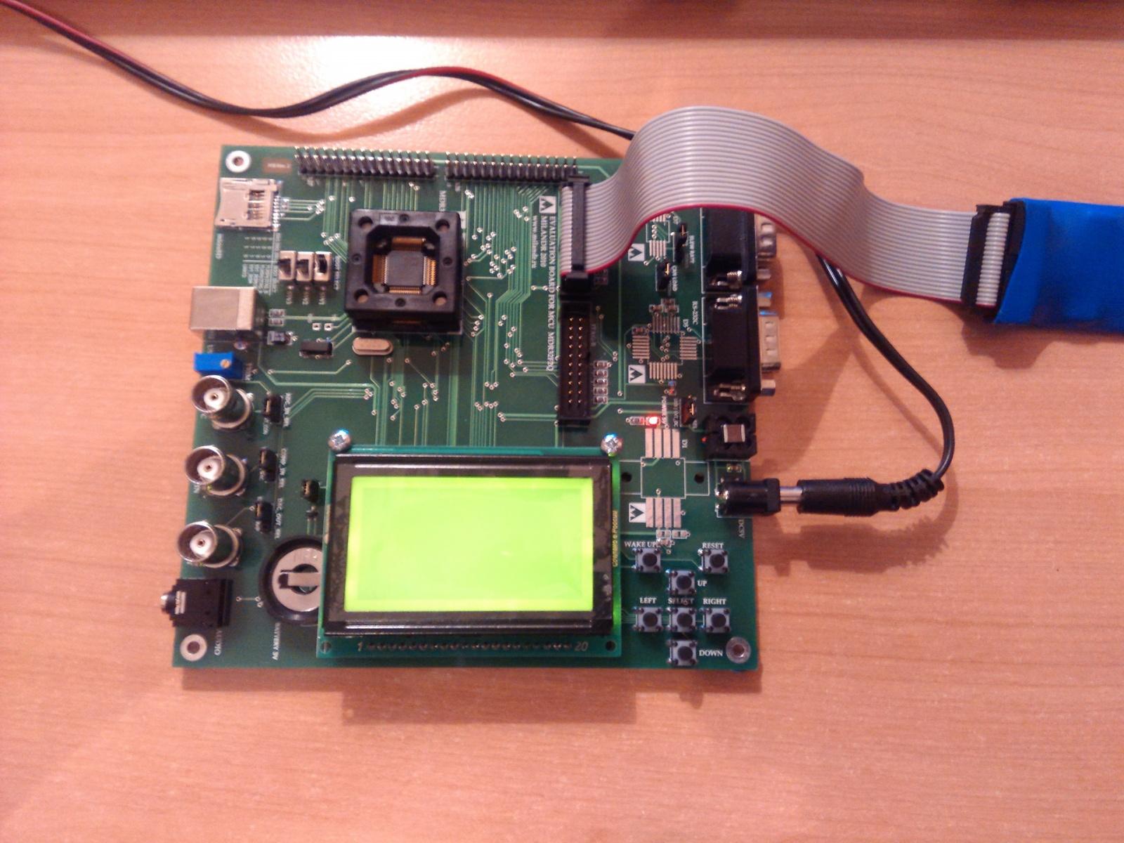 Переходим с STM32F103 на К1986ВЕ92QI. Или первое знакомство с российским микроконтроллером - 24