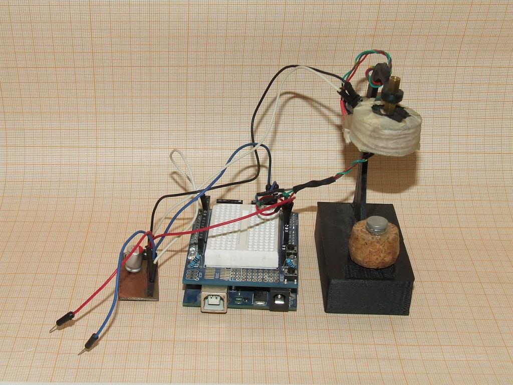 Левитрон на Arduino - 1