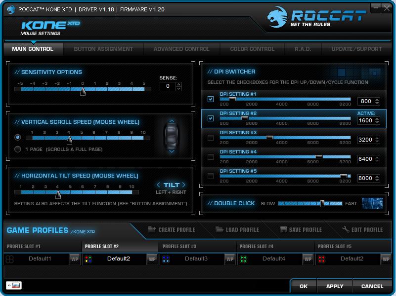 Мышки топ-сегмента – Roccat Kone XTD и Roccat Kone XTD Optical - 19