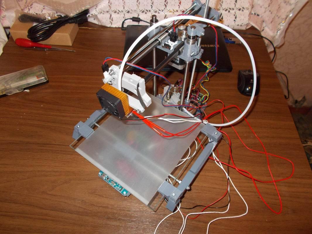 3D MC3 Мастер v1.1 или как я собрал свой первый 3D принтер - 6