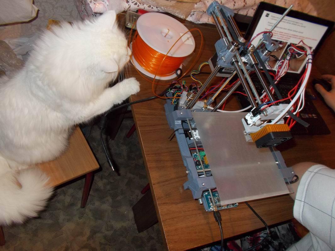 3D MC3 Мастер v1.1 или как я собрал свой первый 3D принтер - 7