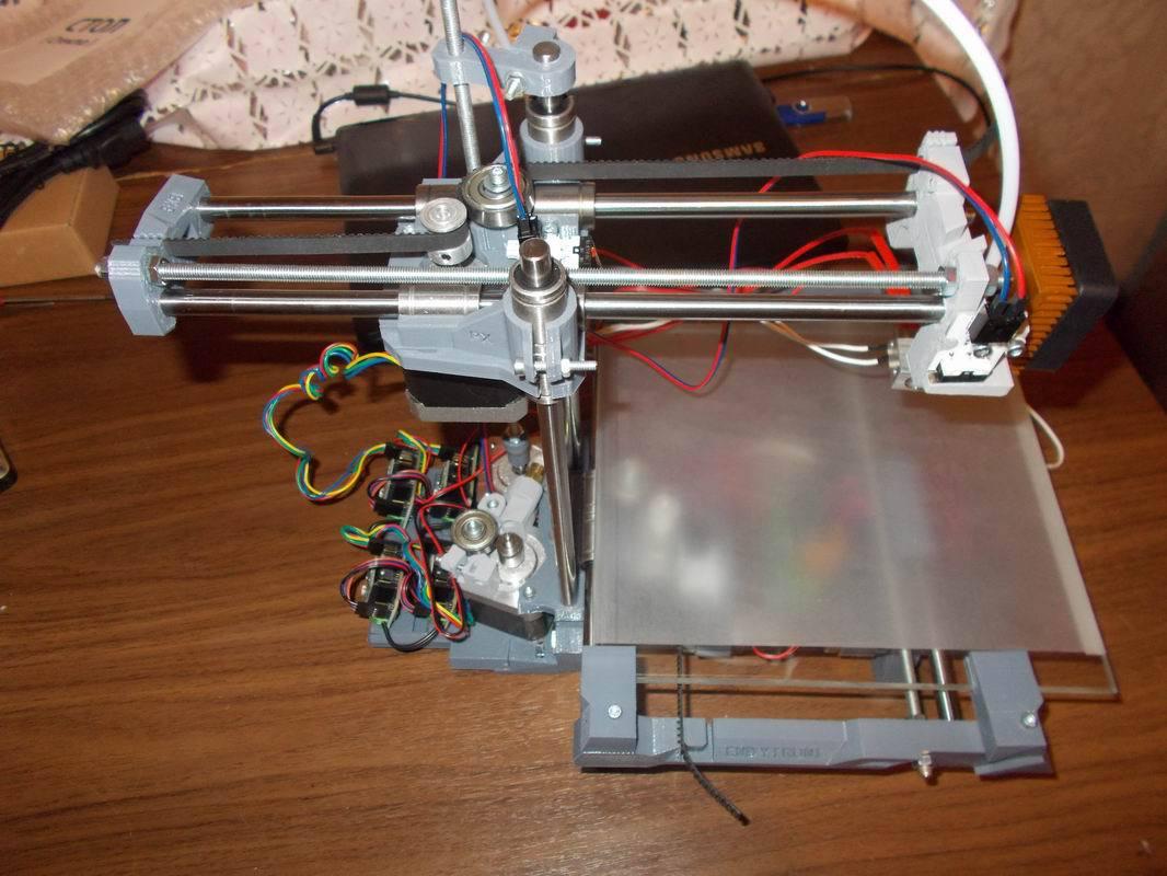 3D MC3 Мастер v1.1 или как я собрал свой первый 3D принтер - 1