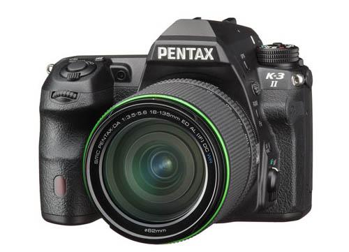 Камера Pentax K-3 II имеет режим съемки с повышением разрешения сдвигом датчика изображения