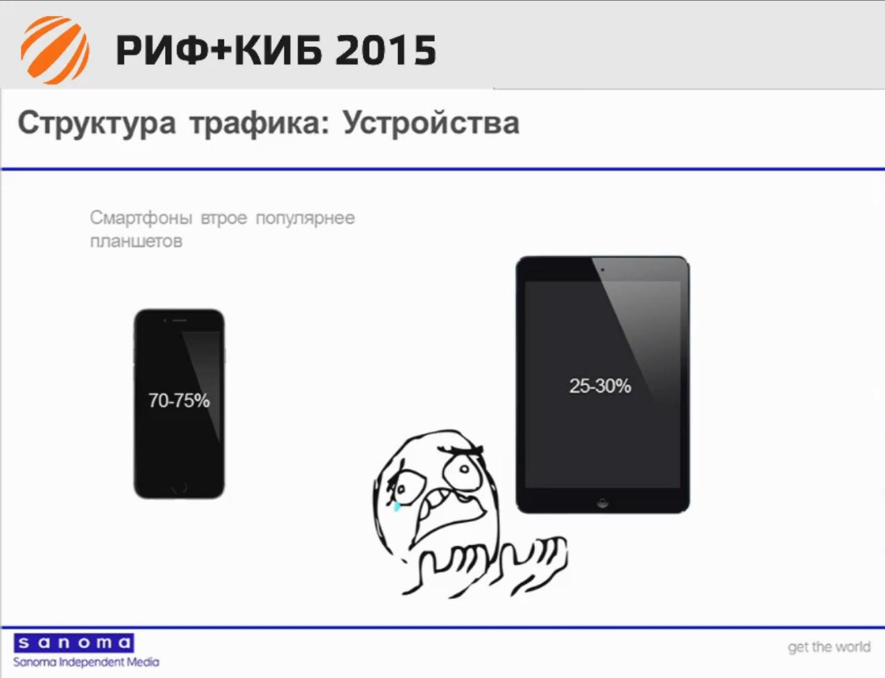 Цифровой директор Sanoma: нам пришлось выбрать iOS; Android — крайне факультативная платформа - 3