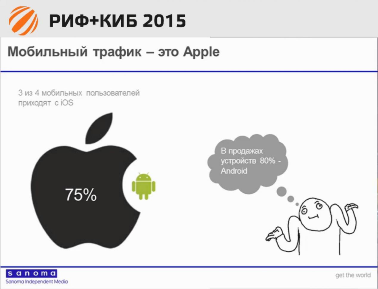 Цифровой директор Sanoma: нам пришлось выбрать iOS; Android — крайне факультативная платформа - 4