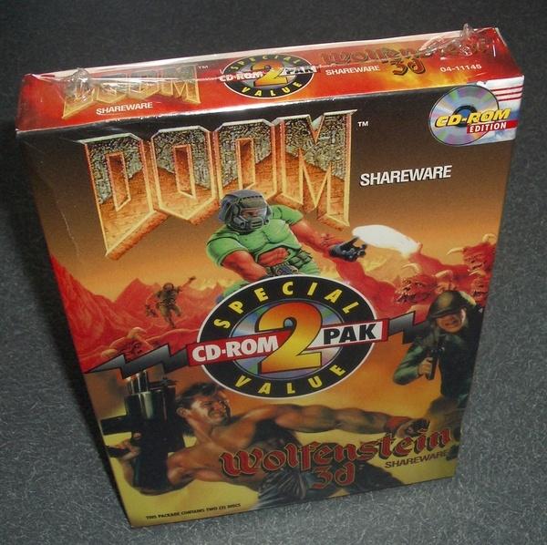 DOOM and Wolfenstein box