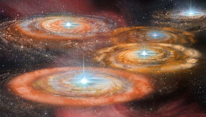 Кластеры протозвезд были яркими, как 100 миллионов Солнц - 1