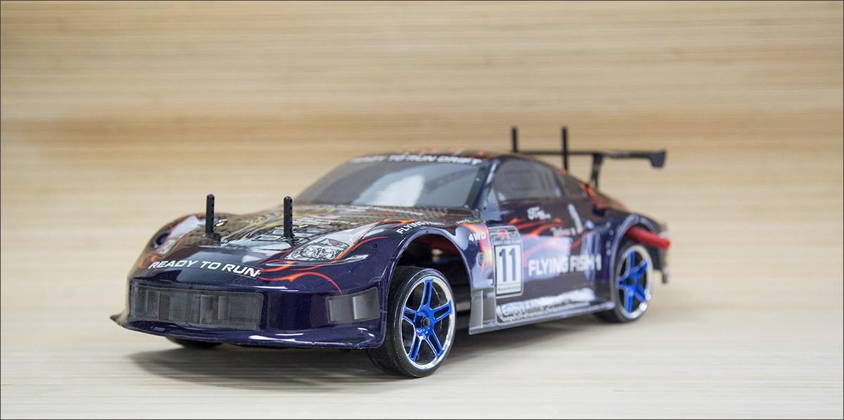 RC Drift — учимся ездить боком в миниатюре - 1