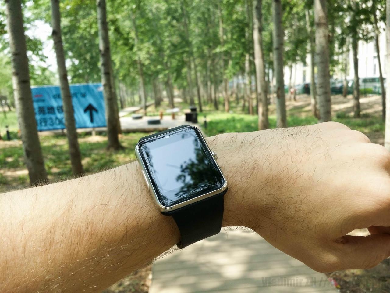 GT08: Яблочные часы «для бедных» - 1