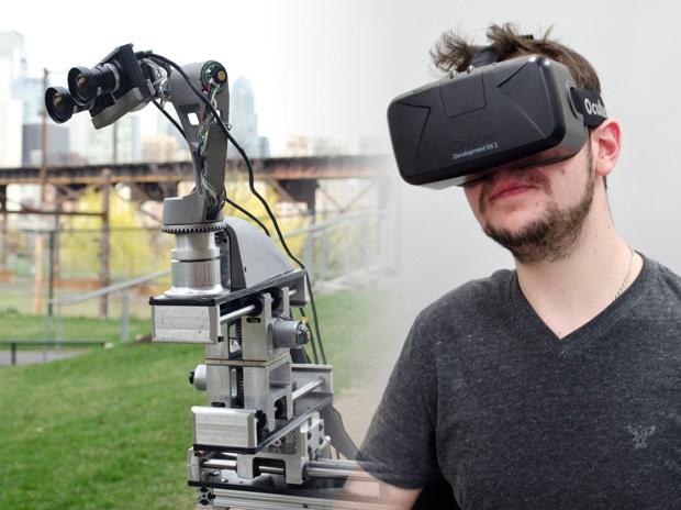 DORA: система телеприсутствия на основе Oculus Rift - 1