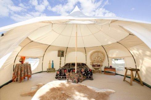 Австралийцы изобрели роскошную палатку для туристов