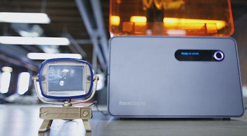 На 3D принтере напечатали телевизор