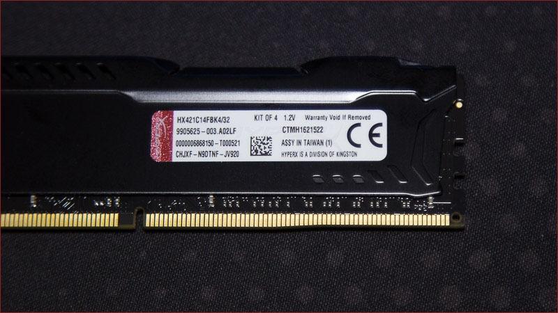 Обзор комплекта оперативной памяти DDR4 HyperX Fury с частотой 2133 МГц - 4