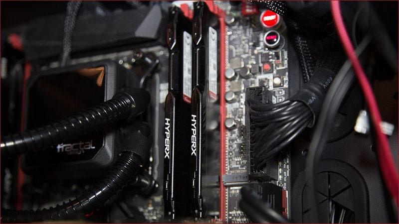 Обзор комплекта оперативной памяти DDR4 HyperX Fury с частотой 2133 МГц - 7